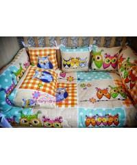 КПБ 3в1 в кроватку Совята