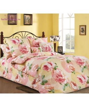 Комплект из бязи 1,5-спальный Розовый рай 2