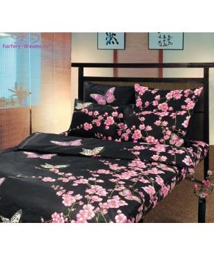Комплект из бязи 1,5-спальный Сакура