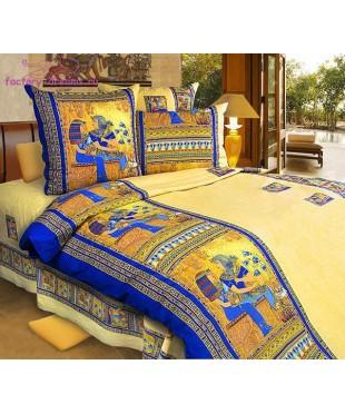 Комплект из бязи 1,5-спальный Золото Египта