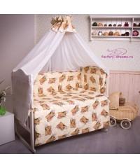 Комплект в кроватку Мишки 6