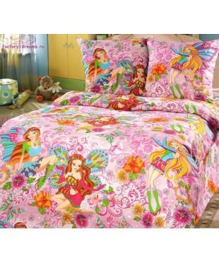 Комплект из бязи 1,5-спальный Добрые феи
