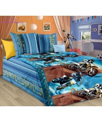 Комплект из бязи 1,5-спальный Драйв