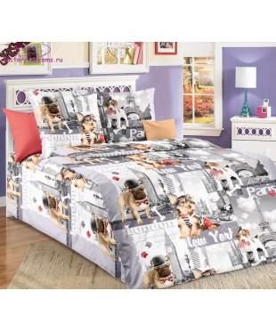 Комплект из бязи 1,5-спальный Евротур