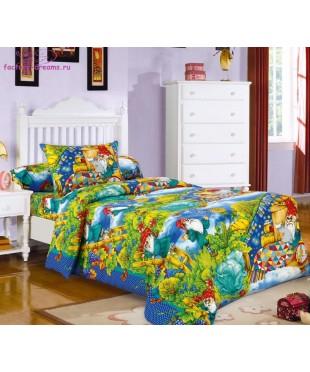 Комплект из бязи 1,5-спальный Гномики
