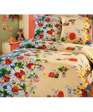 Комплект из бязи в кроватку Карандаши