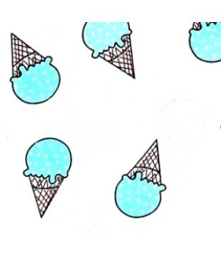 Наволочка Черничное мороженое