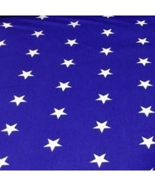 Наволочка Синие звездочки