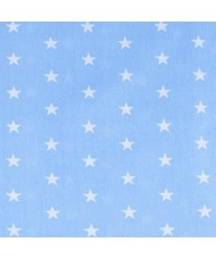 Наволочка Голубые звездочки