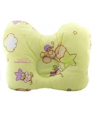 Подушка для младенца бабочка малая