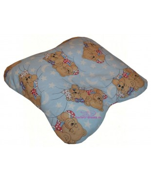 Подушка для младенца бабочка большая